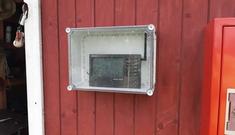Tuulimittarin näyttö